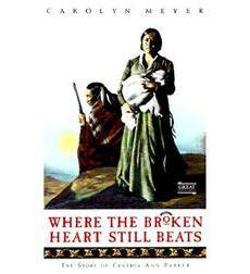 book cover of Where the Broken Heart Still Beats by Carolyn Meyer published by Harcourt