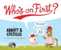 book cover of Who's on First? by Abbott & Costello published by Quirk Books