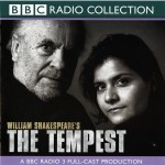CD cover of The Tempest audiobook by BBC Radio