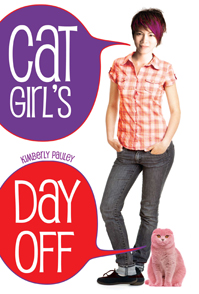 book cover of Cat Girls Day Off by Kimberly Pauley published by Tu Books