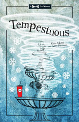 book cover of Tempestuous by Kim Askew and Amy Helmes published by Merit Press