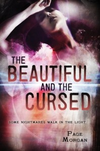 US book cover of The Beautiful and the Cursed by Page Morgan published by Delacorte Books