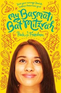 Book cover of My Basmati Bat Mitzvah by Paula J. Freedman published by Amulet Books