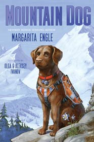 book cover of Mountain Dog by Margarita Engle published by Henry Holt Books for Young Readers