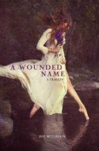 book cover of A Wounded Name by Dot Hutchison published by Carolrhoda Lab