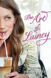 book cover of The Art of Lainey by Paula Stokes published by HarperTeen