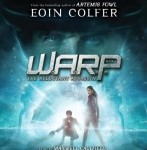 CD cover of Warp Reluctant Assassin by Eoin Colfer read by Maxwell Caulfield published by Listening Library