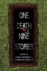 book cover of One Death Nine Stories edited by Marc Aronson & Charles R Smith published by Candlewick Press