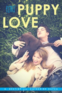 book cover of Puppy Love by A Destiny and Catherine Hapka published by Simon Pulse
