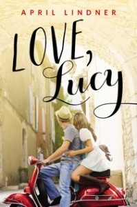book cover of Love, Lucy by April Lindner published by Poppy
