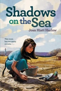 book cover of Shadows on the Sea by Joan Hiatt Harlow published by Margaret K McElderry Books