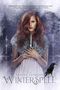 book cover of Winterspell by Claire Legrand published by Simon Schuster