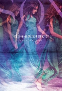 book cover of Dissonance by Erica O'Rourke published by Simon Schuster BFYR