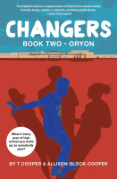book cover of Changers Book 2 Oryon by T Cooper and Allison Glock Cooper published by Black Sheep