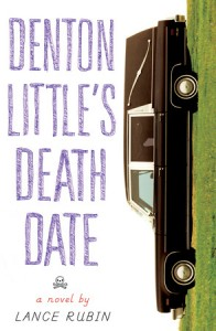 US book cover of Denton Little's Deathdate by Lance Rubin published by Knopf Books for Young Readers