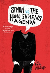 book cover of Simon vs the Homo Sapiens Agenda by Becky Albertalli published by Balzer + Bray