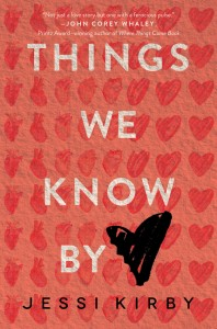 book cover of Things We Know By Heart by Jessi Kirby published by HarperTeen