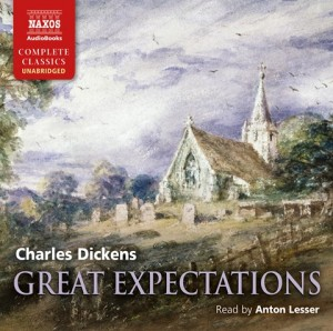 CD cover of Great Expectations  by Charles Dickens | Read by Anton Lesser Published by Naxos AudioBooks