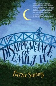 book cover of The Disppearance of Emily H. by Barrie Summy published by Delacorte Press