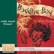 CD cover of Buddha Boy by Kathe Koja | Read by Spencer Murphy Published by Full Cast Audio