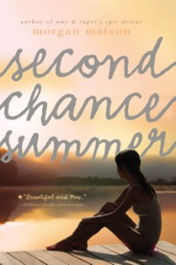 book cover of Second Chance Summer by Morgan Matson published by Simon Schuster