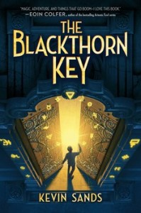 book cover of The Blackthorn Key by Kevin Sands published by Aladdin | BooksYALove.com