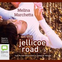 CD cover of audiobook On the Jellicoe Road by Melina Marchetta | Read by Rebecca Macauley Published by Bolinda Audio | recommended on BooksYALove.com