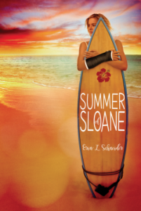 book cover of Summer Of Sloane by Erin L. Schneider published by Disney-Hyperion  | recommended on BooksYALove.com