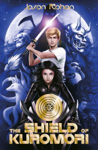 book cover of Shield of Kuromori by Jason Rohan published by Kane Miller   recommended on BooksYALove.com