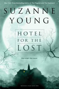 paperback cover of Hotel For the Lost by Suzanne Young published by Simon Pulse | recommended on BooksYALove.com