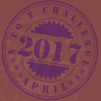 image of April A to Z blogging Challenge badge from http://www.a-to-zchallenge.com