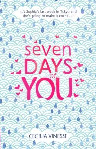 UK book cover of Seven Days of You published by Poppy Little Brown  | recommended on BooksYALove.com