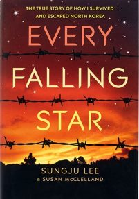 book cover of Every Falling Star by Sungju Lee and Susan McClelland published by Amulet Books  | recommended on BooksYALove.com