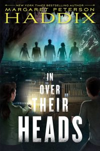 book cover of In Over Their Heads by Margaret Peterson Haddix, published by Simon & Schuster BYFR  | recommended on BooksYALove.com
