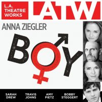 CD cover of Boy by Anna Ziegler | Read by Sarah Drew, John Getz, Travis Johns, Amy Pietz, Bobby Steggert Published by L.A. Theatre Works | recommended on BooksYALove.com