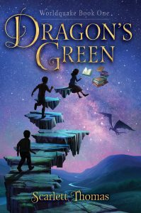 book cover of Dragon's Green by Scarlett Thomas published by Simon Schuster Books for Young Readers | recommended on BooksYALove.com