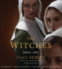 CD cover of The Witches: Salem, 1692 by Stacy Schiff | Read by Eliza Foss Published by Hachette Audio | recommended on BooksYALove.com