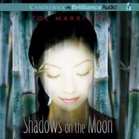 CD cover of Shadows on the Moon by Zoe Marriott | Read by Amy Rubinate Published by Brilliance Audio recommended on BooksYALove.com