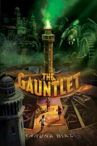 book cover of The Gauntlet by Karuna Riazi published by Salaam Reads | recommended on BooksYALove.com