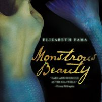 CD cover of Monstrous Beauty, by Elizabeth Fama | Read by Katherine Kellgren Published by Macmillan Audio | recommended on BooksYALove.com